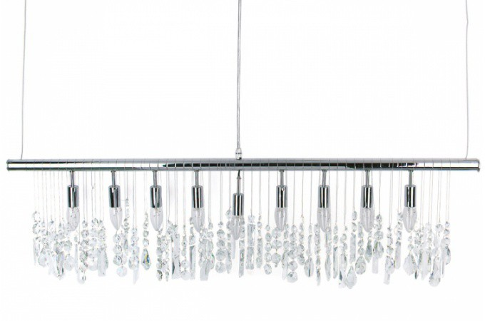 suspension blanche et argent e design pas ch re. Black Bedroom Furniture Sets. Home Design Ideas