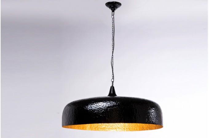 suspension noire et dor e pas ch re. Black Bedroom Furniture Sets. Home Design Ideas