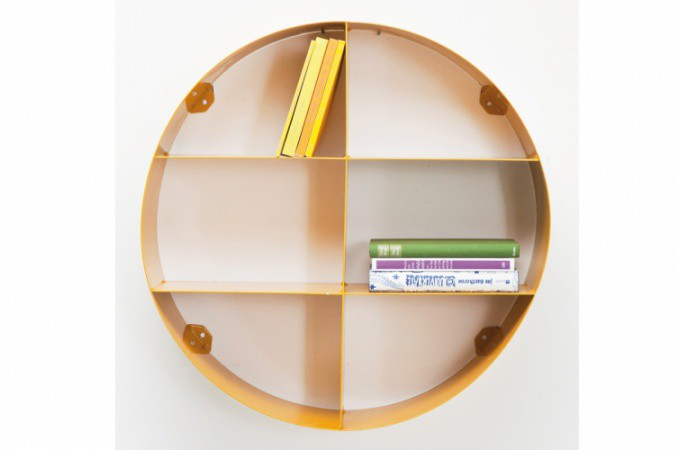 Awesome etagere murale ronde bois images transformatorio for Decoration etagere murale