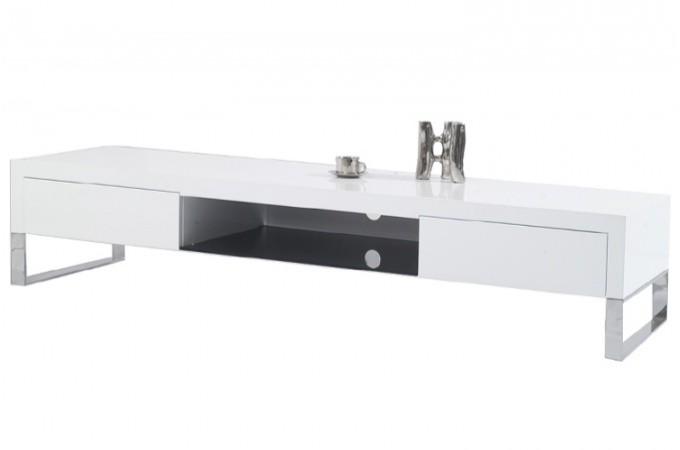 Meuble tv design pour votre salon declik deco page 1 for Meuble blanc sejour