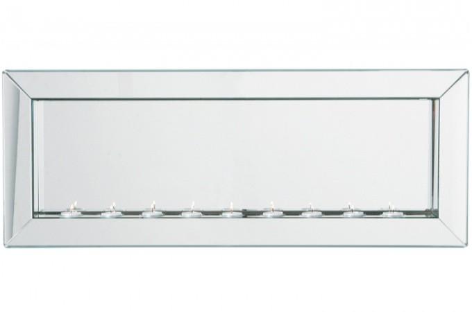Grand miroir 91 x 35 cm snow miroirs pas cher declik deco for Grand miroir horizontal design