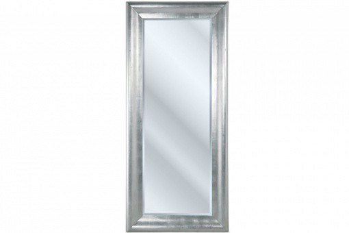 Grand miroir vertical argent prima 90 x 200 cm declikdeco for Miroir 90x200
