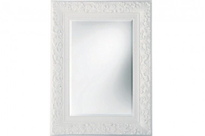 Grand miroir baroque pas cher maison design for Grand miroir blanc baroque