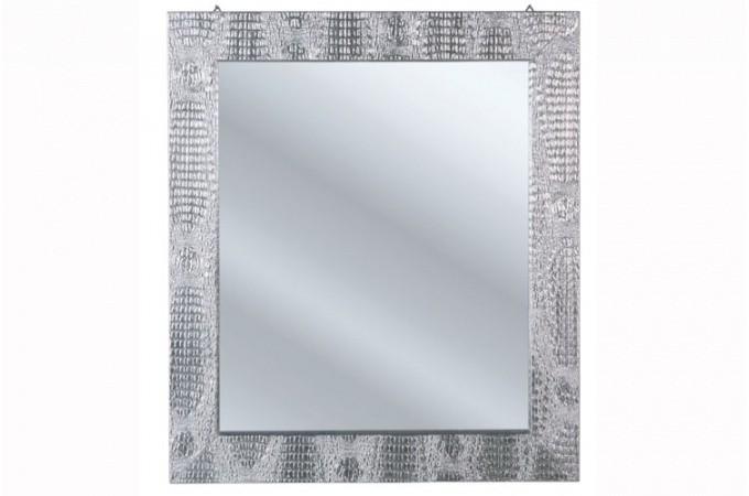 Miroir carre design large choix de miroir carr pas cher - Miroir argente pas cher ...