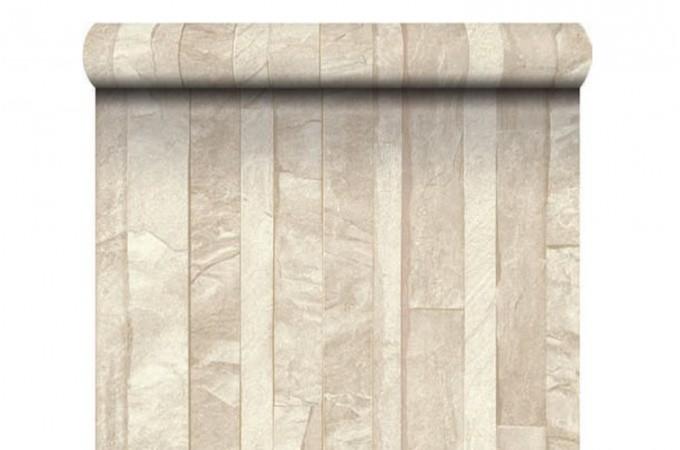 papier peint ardoise lamelles beige papiers peints brique pierres pas cher. Black Bedroom Furniture Sets. Home Design Ideas