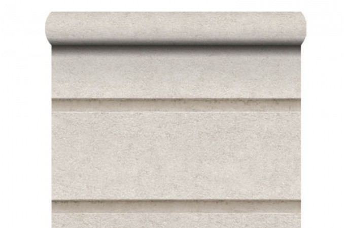 Papier peint pierre haussmmanienne beige papiers peints for Decoration murale haussmannien