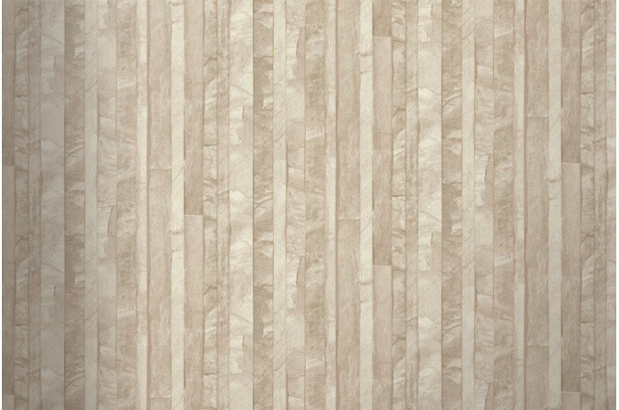 Papier peint ardoise lamelles beige papiers peints brique pierres pas - Papier peint effet lambris ...