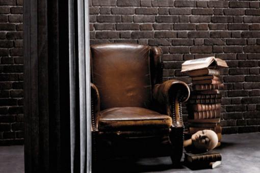 papier peint brique cendr e papiers peints brique pierres pas cher. Black Bedroom Furniture Sets. Home Design Ideas
