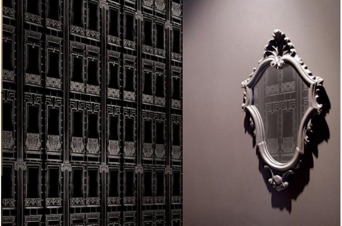 Papier peint trompe oeil effet baroque papier peint - Papier peint baroque pas cher ...