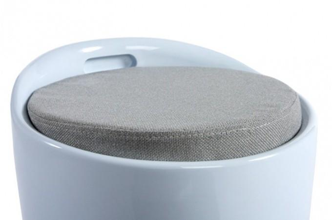 tabouret coffre blanc tambour poufs petits tabourets pas cher. Black Bedroom Furniture Sets. Home Design Ideas