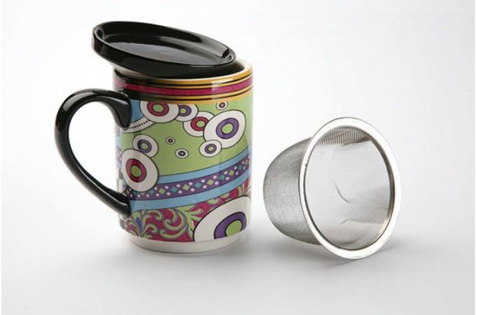 tasse infuser filtre psych d lique accessoires pas cher. Black Bedroom Furniture Sets. Home Design Ideas