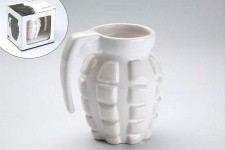 Tasse Grenade Blanche - Decoration interieur design