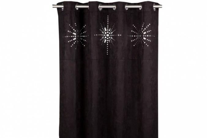 rideaux avec oeillets pas cher. Black Bedroom Furniture Sets. Home Design Ideas