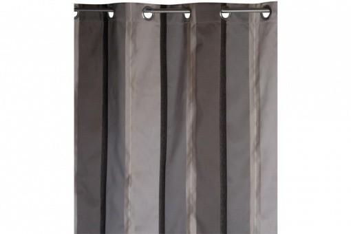 rideau oeillet jacquard gris norvegia 140 x 260 cm rideaux pas cher. Black Bedroom Furniture Sets. Home Design Ideas