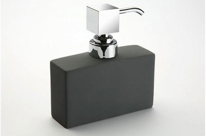 Distributeur savon gris paty deco design for Distributeur de savon mural design