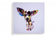 Tableau Chien Pop 50 x 50 Chiwa - Deco pop art design