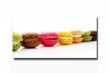 Tableau Gourmand Macaron 40X80Cm , deco design