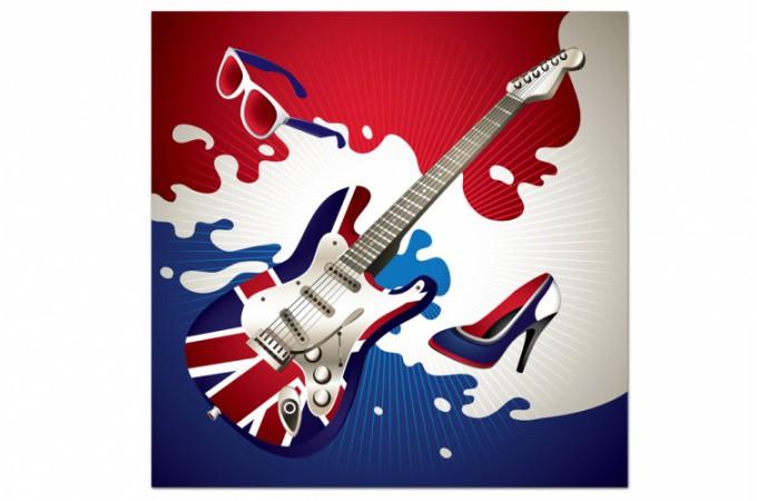 Tableau musique tous nos tableaux musique aux univers for Decoration murale guitare