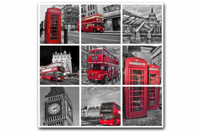 Deco londonienne for Meuble 50x50