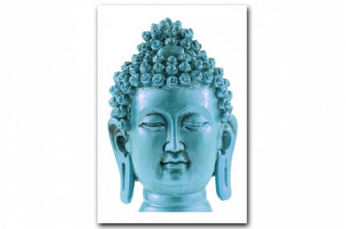 Tableau zen nombreux tableaux zen pas cher pour une d co for Tete de bouddha deco