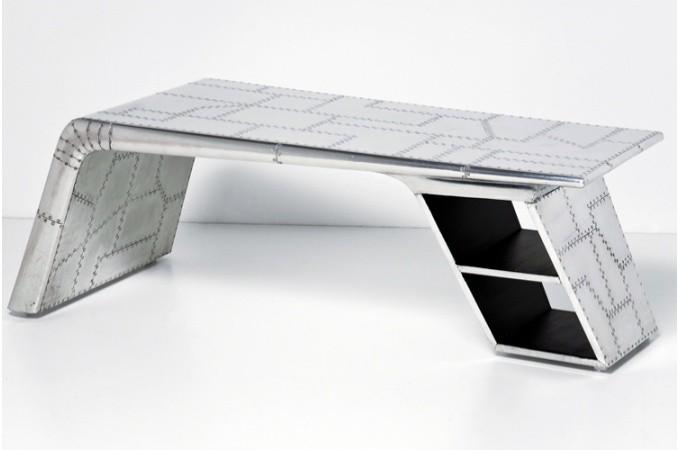 table basse spidernet alu kare design. Black Bedroom Furniture Sets. Home Design Ideas