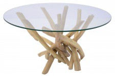 Table basse Kare Design en bois Nature, deco design
