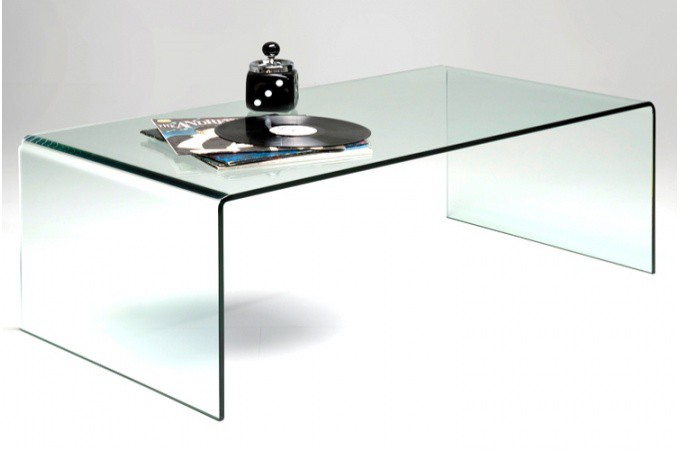 Table en verre basse table verre basse sur enperdresonlapin - Tables de salon en verre ...