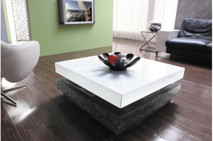 Table basse amovible pas cher id e for Decoration table basse