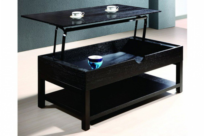 Table basse weng avec plateau relevable table basse pas cher - Table salon pas chere ...