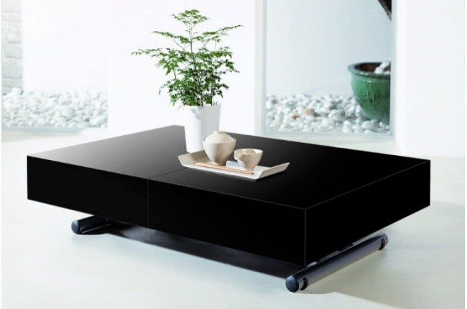 table relevable avec rallonge ukbix. Black Bedroom Furniture Sets. Home Design Ideas