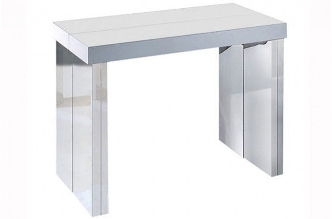 Table console extensible transformable - Table console extensible laque ...