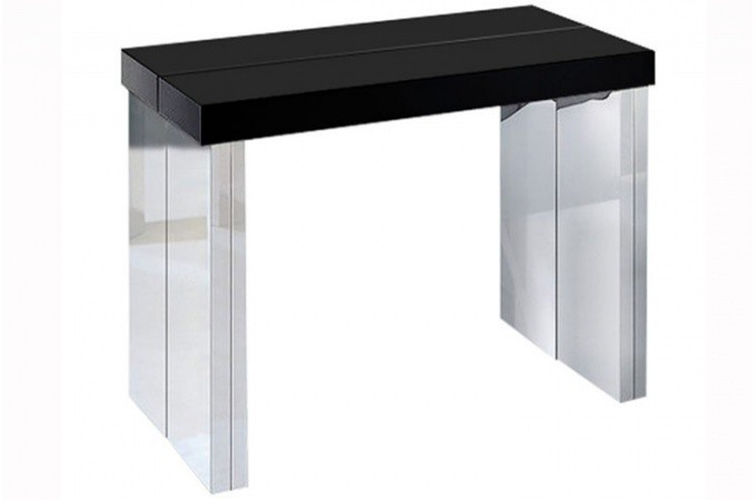 92 table console extensible noir table console extensible ikea sammlung von table console. Black Bedroom Furniture Sets. Home Design Ideas