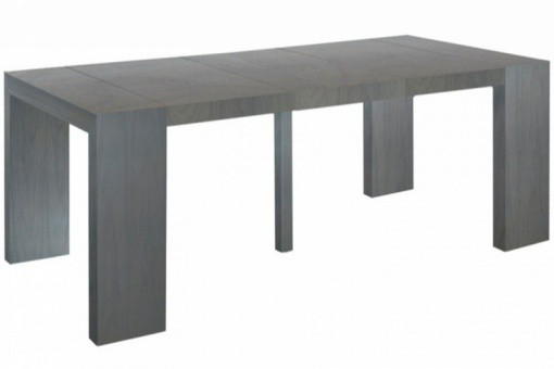 Table console extensible Vintage 4 rallonges XL