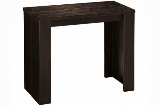 Table console extensible wengue 3 rallonges Broadway