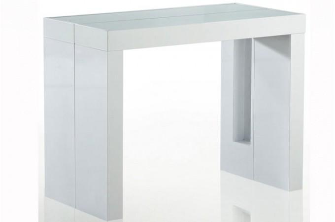 table console retractable