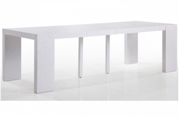 Table rabattable cuisine paris table console extensible - Table console extensible 12 personnes ...