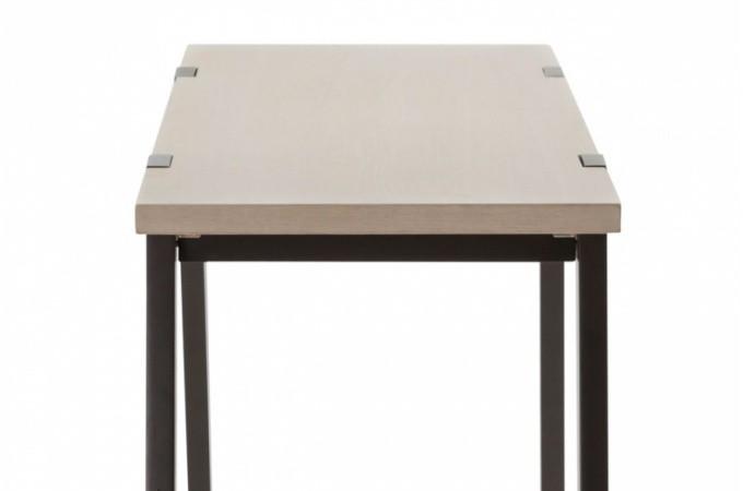 Table haute en bois rome tables consoles pas cher declik - Meuble console haute ...