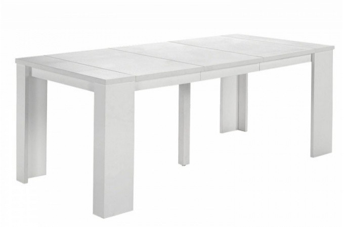 Table console extensible blanche pas ch re - Console extensible pas chere ...