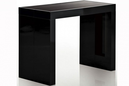 Table extensible Noir