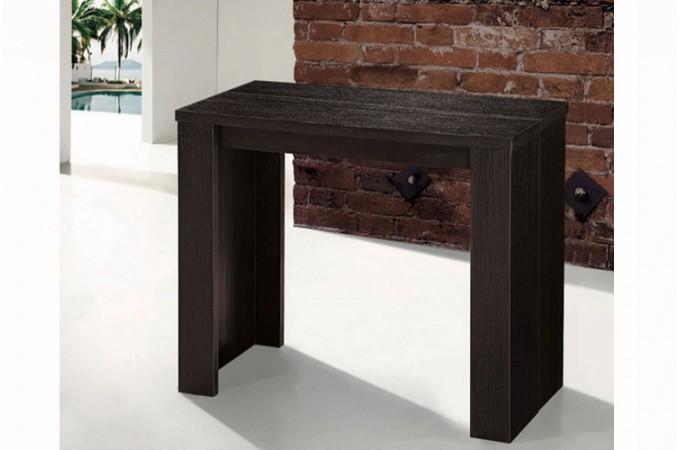 table console extensible wengue pas ch re. Black Bedroom Furniture Sets. Home Design Ideas
