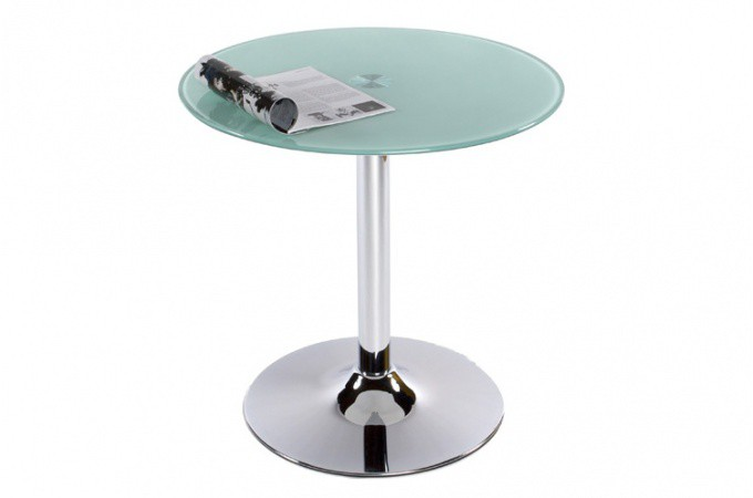 Table basse verre ronde opaque tables d 39 appoint pas cher - Table basse ronde pas chere ...
