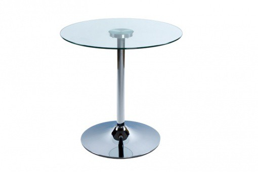 Table Basse Verre Ronde Transparent