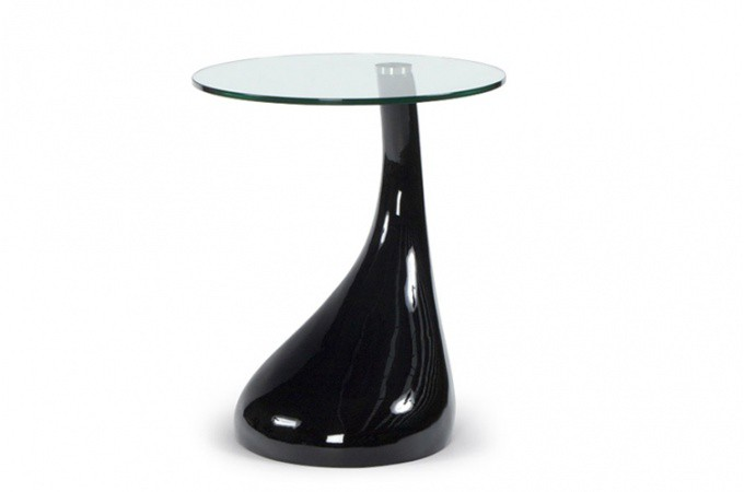 table d 39 appoint design snoopy noir tables d 39 appoint pas cher. Black Bedroom Furniture Sets. Home Design Ideas