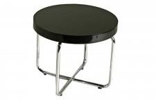 Table d'Appoint Table d'Appoint Noire Laquée Irène , deco design