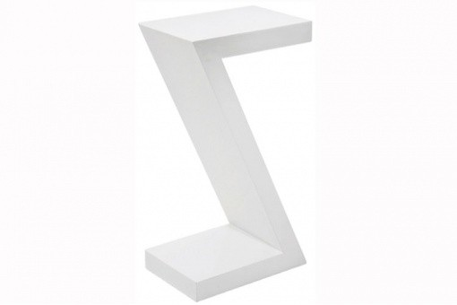 Table d'Appoint Blanc