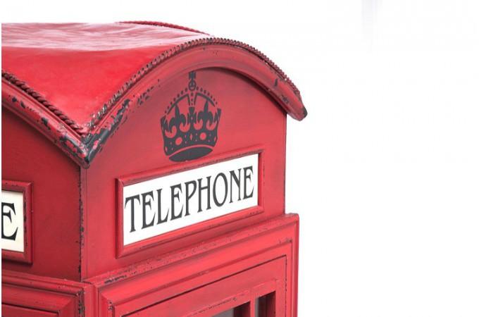 ... Meuble Bar Cabine Téléphonique Rouge London · Table De Bar Rouge ...