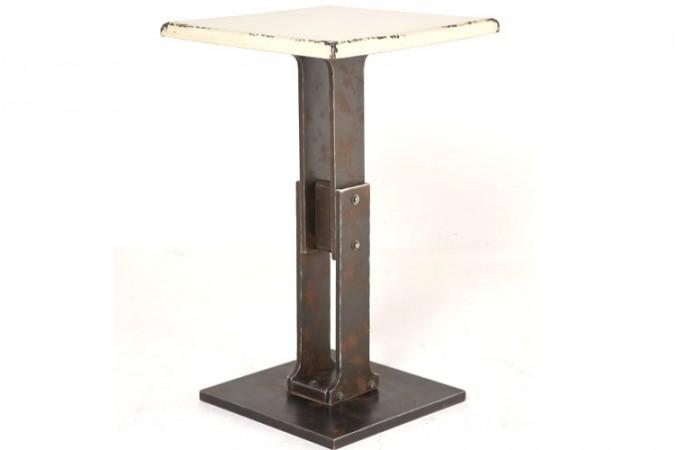 table de bar style industriel achat mobilier industriel. Black Bedroom Furniture Sets. Home Design Ideas