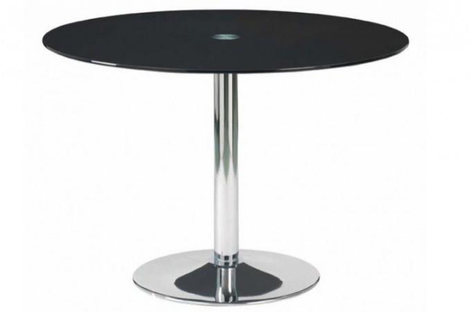 Table ronde en verre pas cher maison design for Table ronde avec rallonge pas cher