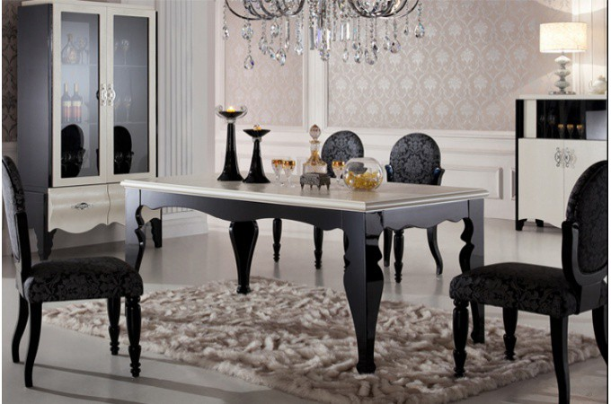 d coration salle a manger baroque. Black Bedroom Furniture Sets. Home Design Ideas