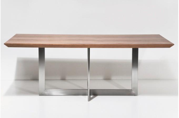 Table de repas design pas chère ~ Decoration De Table En Bois